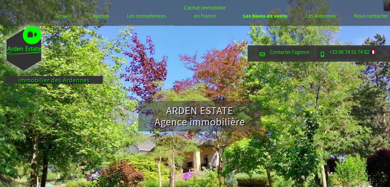 Arden Estate, Immobilier, Ardennes, multilingue